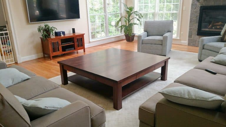custom table by Cutting Edge Cabinetry in Prince Frederick MD